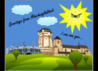 Greetings from Mönchengladbach!