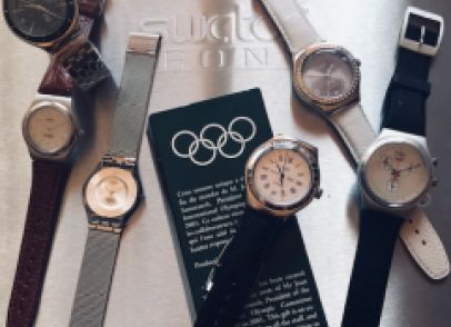 IRONY !!!   My Olympic Collection