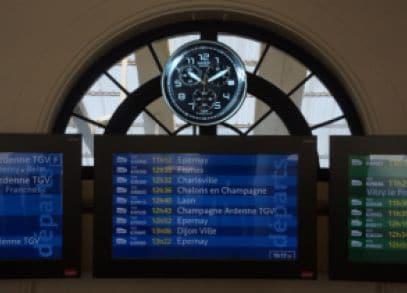 Les trains sont a L'heure