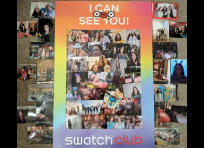 My life of Irony is attending Swatch events since the age of three, always as a guest never quite VIP