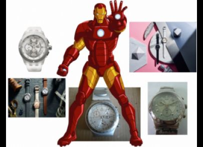 Swatch Irony for Iron Man Swatch Hero