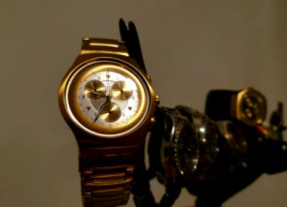 The weight of the world  in your hands.. only if is a swatch...