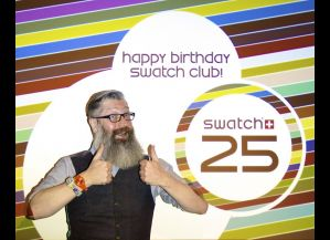 Swatch: that daily touch of color in your life!