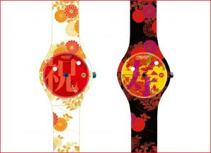 I congratulate a 25th anniversary of swatch club. 25th anniversary Japanese limitation club model ?