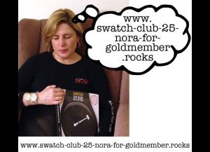Nora's Swatch 25 Gold Member Dream is on the web at . . .