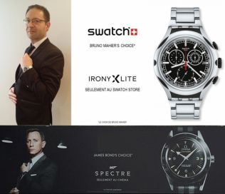 Each brand chooses a star. My name is Mahier, Bruno Mahier.