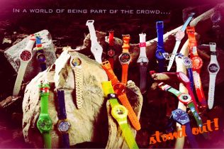 In a world of being part of the crowd.... stand out!!!