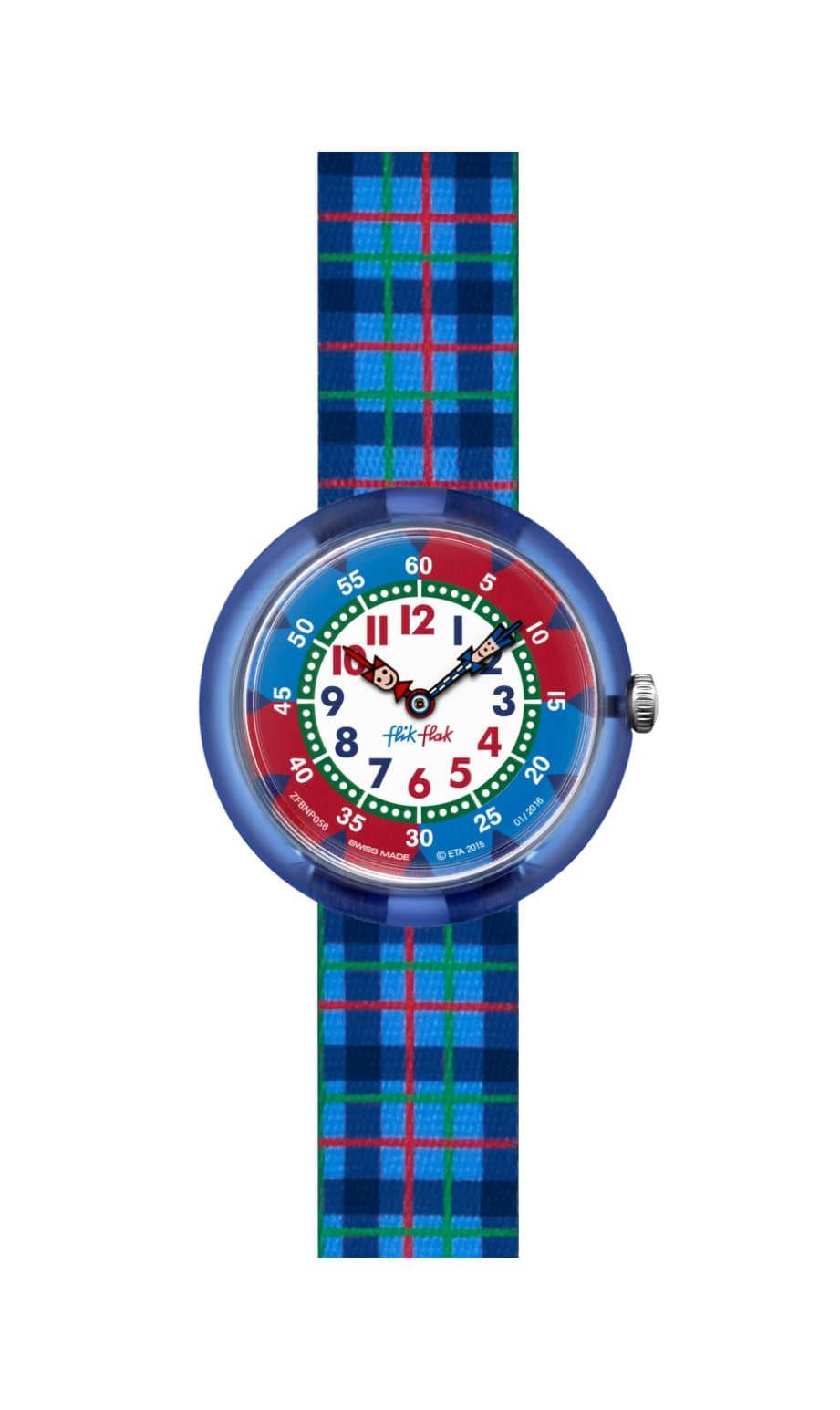 Swatch - BLUE FLIK - 1