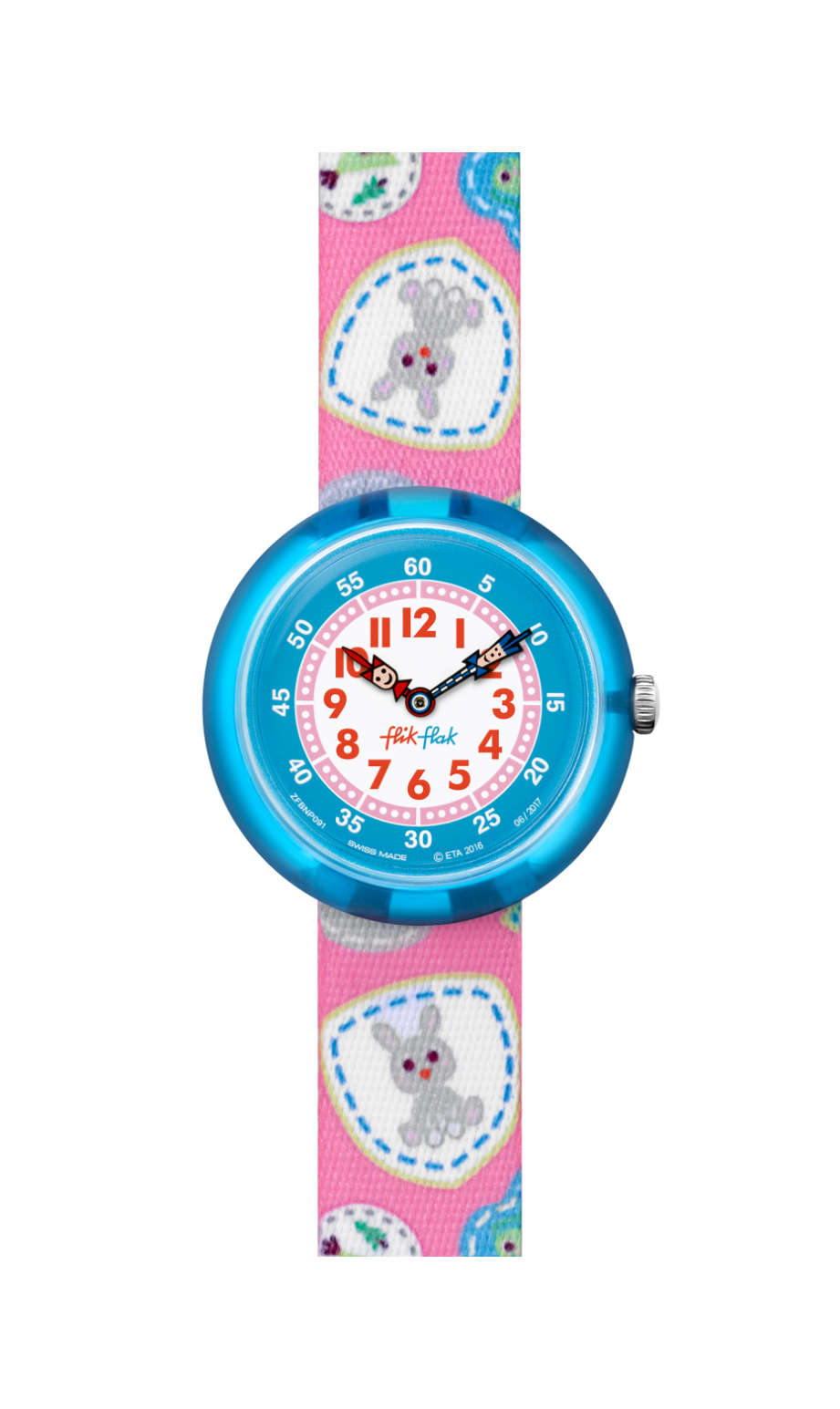 Swatch - CAMPING BADGE PINK - 1