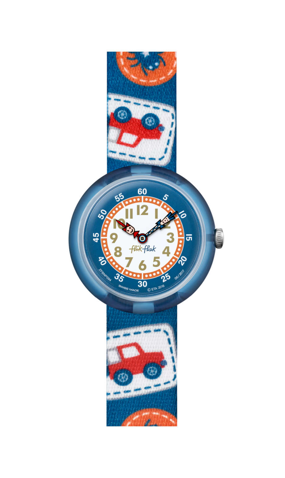 Swatch - CAMPING BADGE BLUE - 1