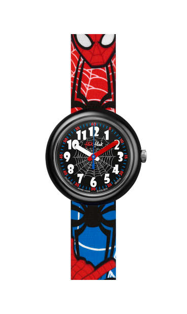 Swatch® Malaysia - Flik Flak Friends   Heroes SPIDERMAN FLNP021 af9cb3b62d7
