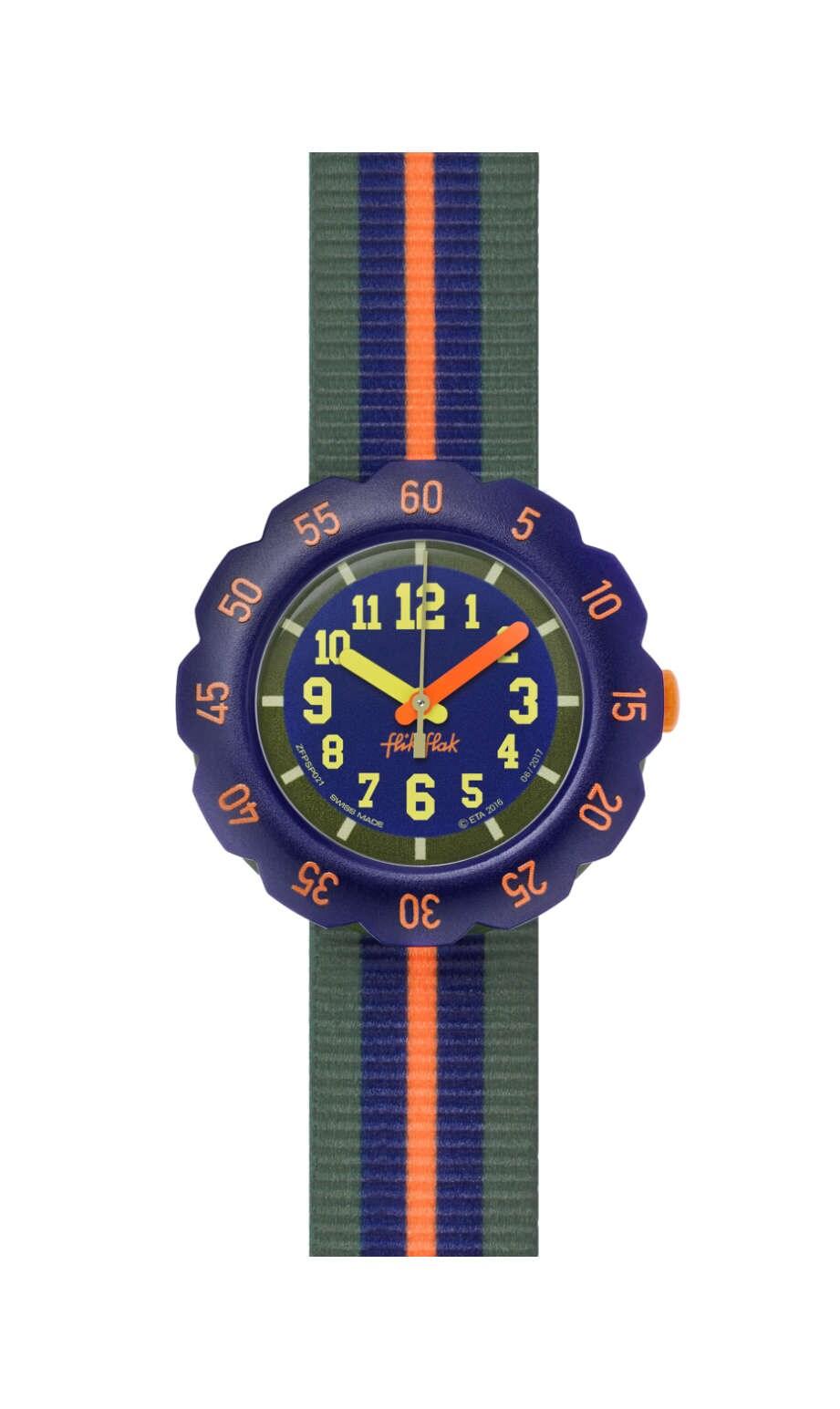 Swatch - ORANGE LINE - 1