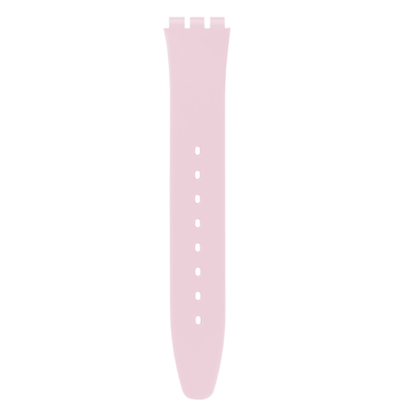 LIGHT PINK SILICONE STRAP 6H