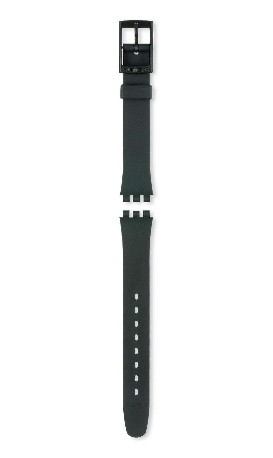 Swatch - BLACK PLASTIC STRAP - 1