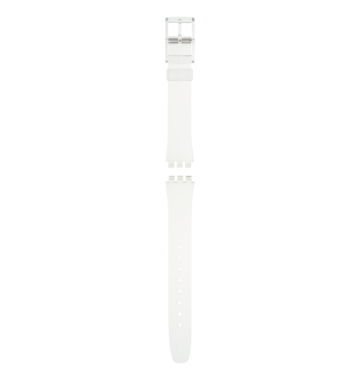 LADY TRANSPARENT PLASTIC STRAP