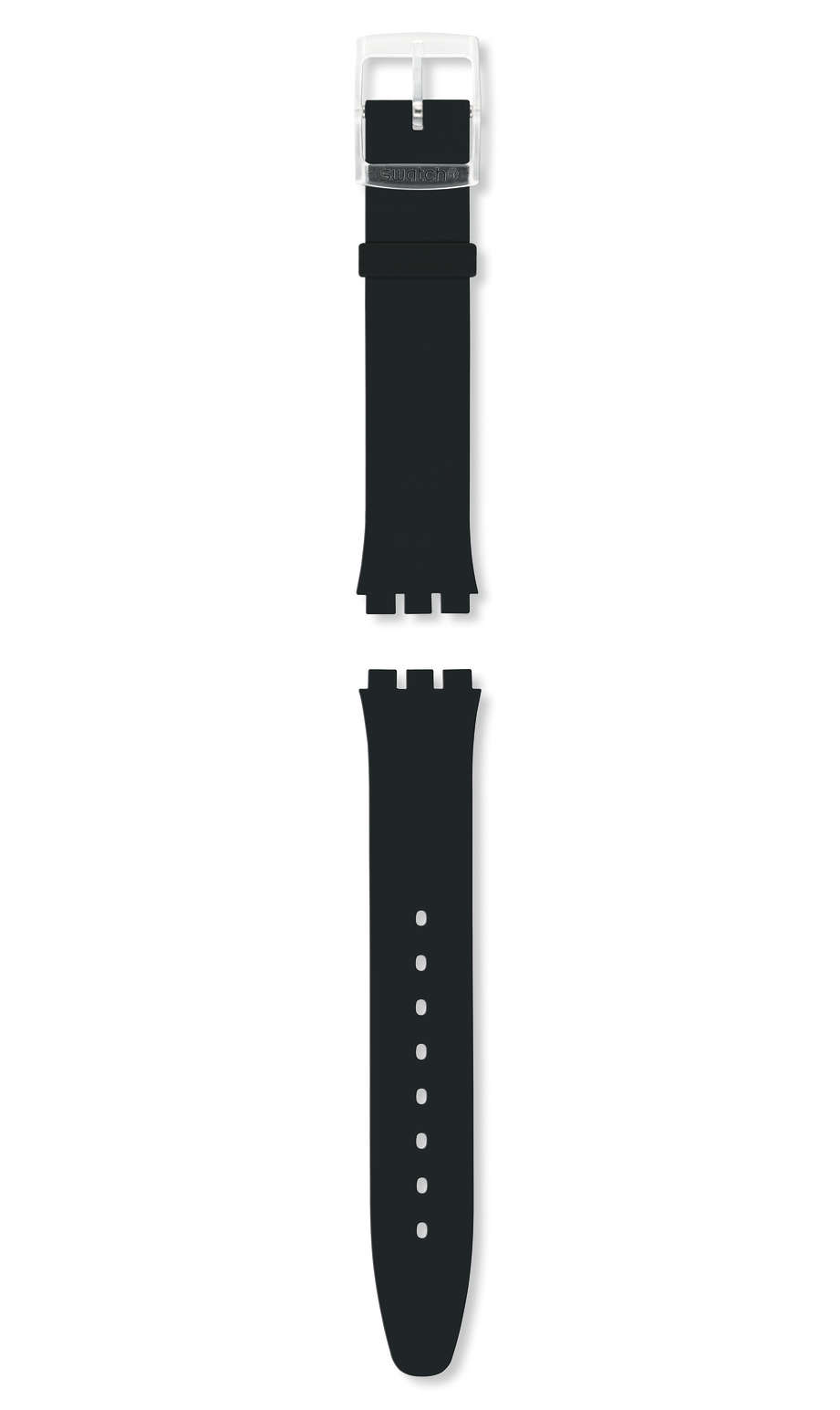 Swatch - BLACK CLASSINESS / SILICONE STRAP - 1