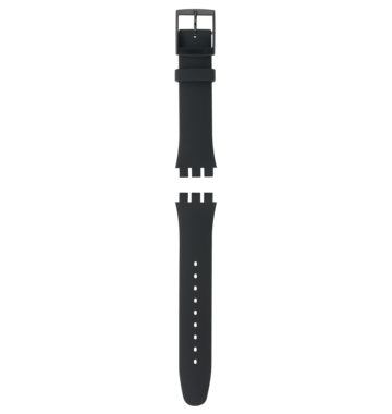BLACK REBEL / SILICONE STRAP