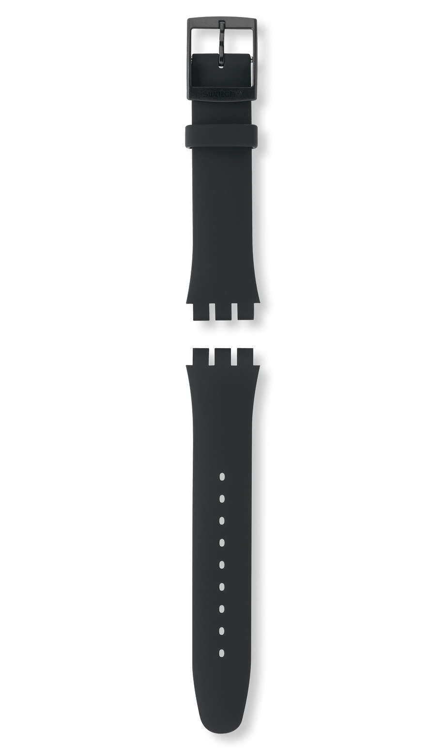 Swatch - BLACK REBEL / SILICONE STRAP - 1