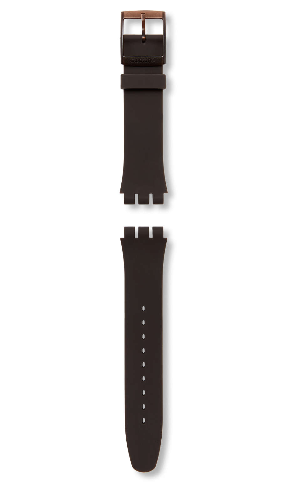 Swatch - BROWN REBEL / SILICONE STRAP - 1