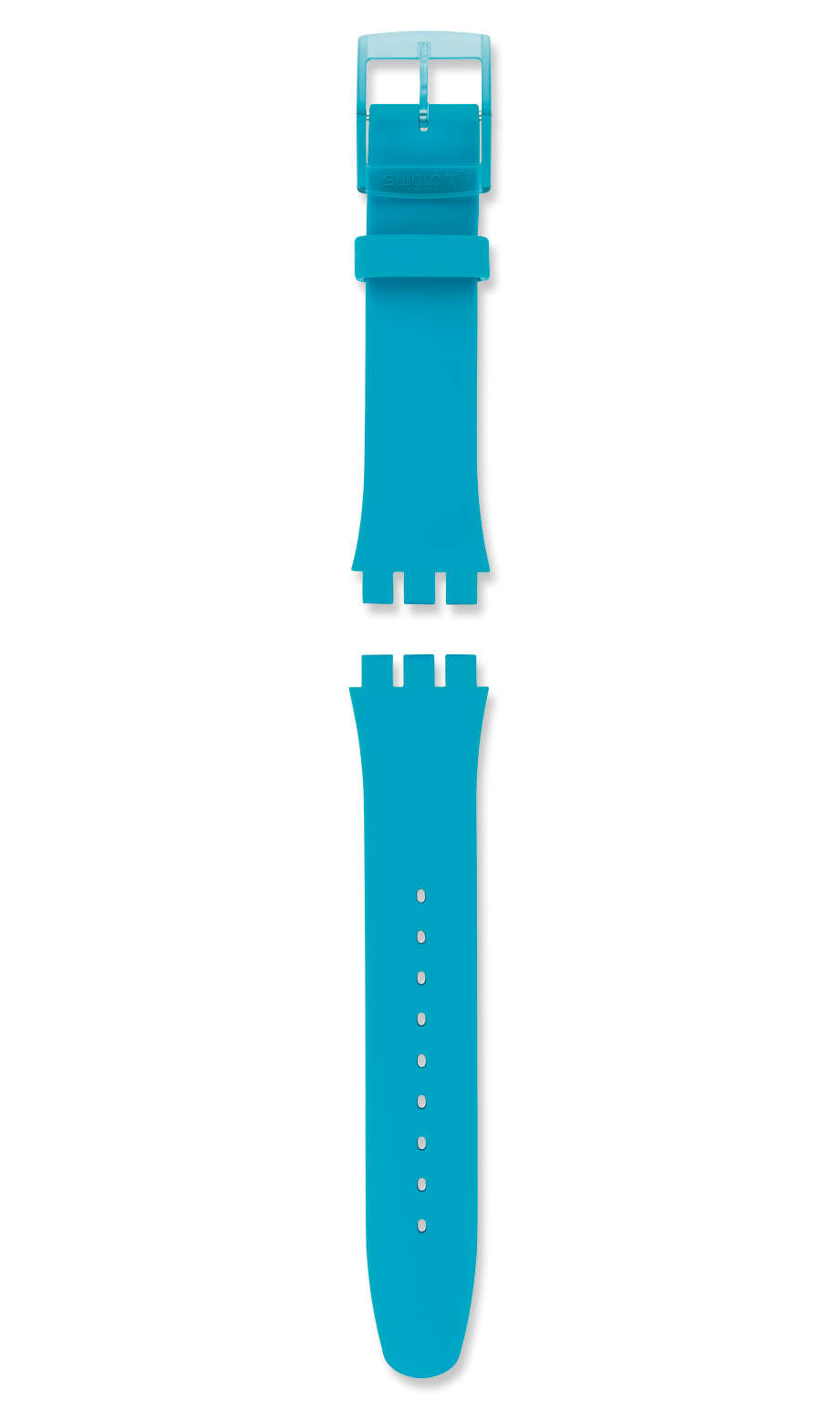 Swatch - TURQUOISE REBEL / SILICONE STRAP - 1