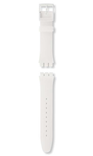 WHITE REBEL / SILICONE STRAP
