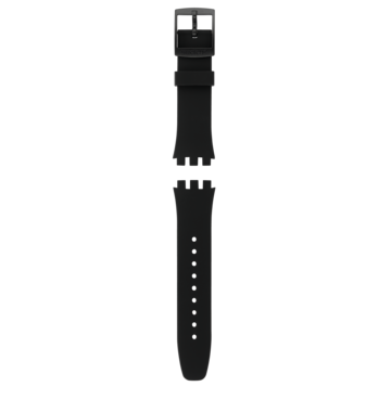BLACK EFFICIENCY / SILICONE STRAP