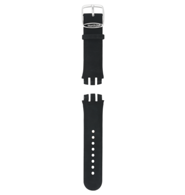STEEL SHINE / SYNTHETIC LEATHER STRAP
