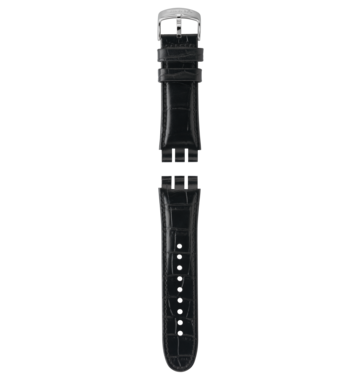 YOUR TURN BLACK / LEATHER STRAP