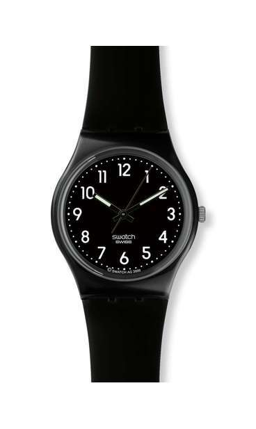 swatch® united states home black suit