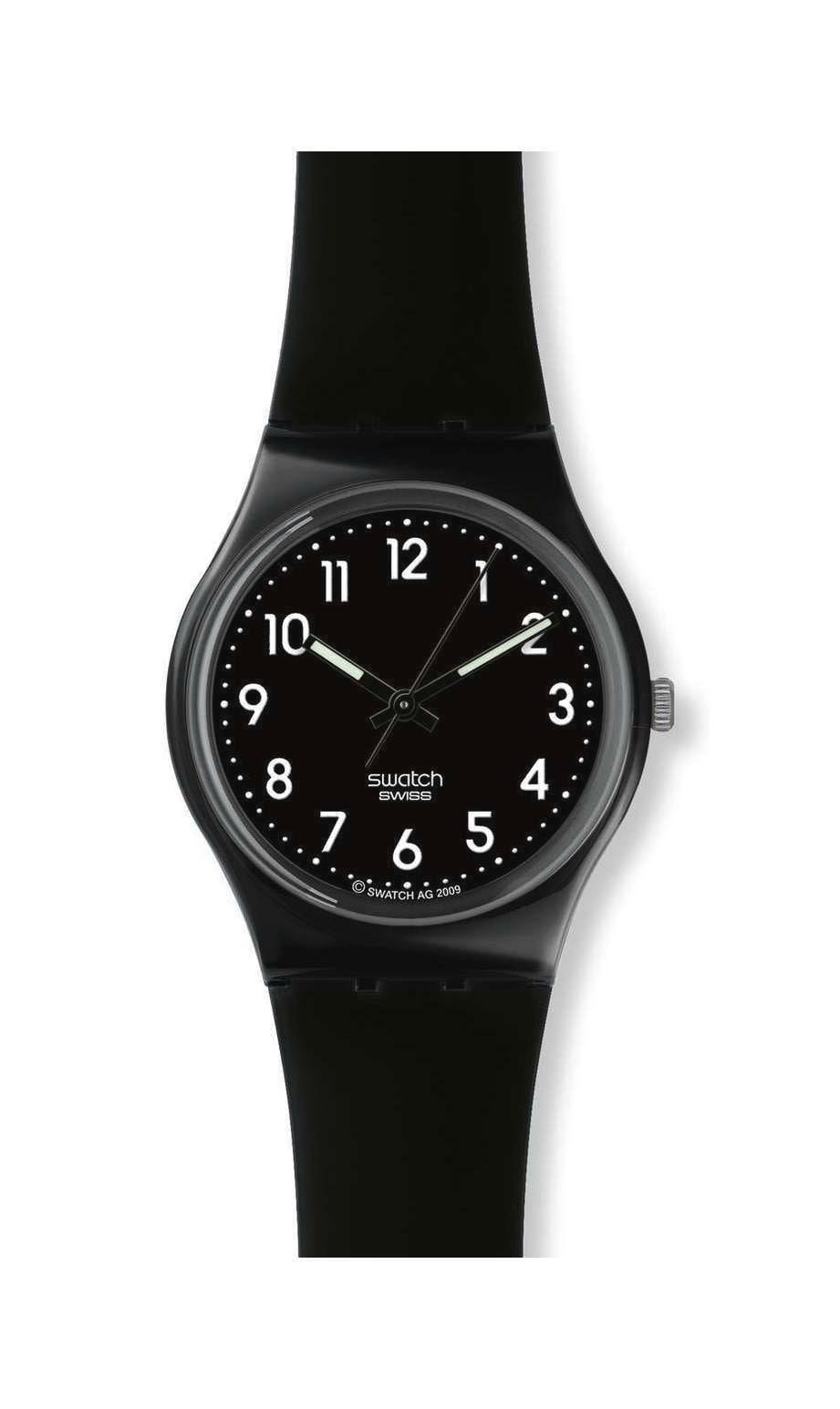 Swatch - BLACK SUIT - 1