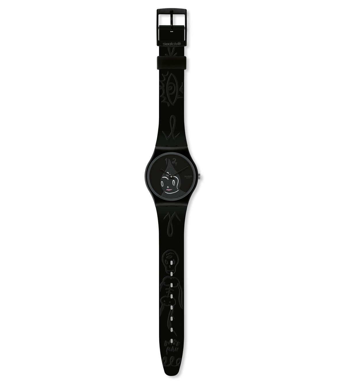 SWATCH-MIDNIGHT MAGI - GB249