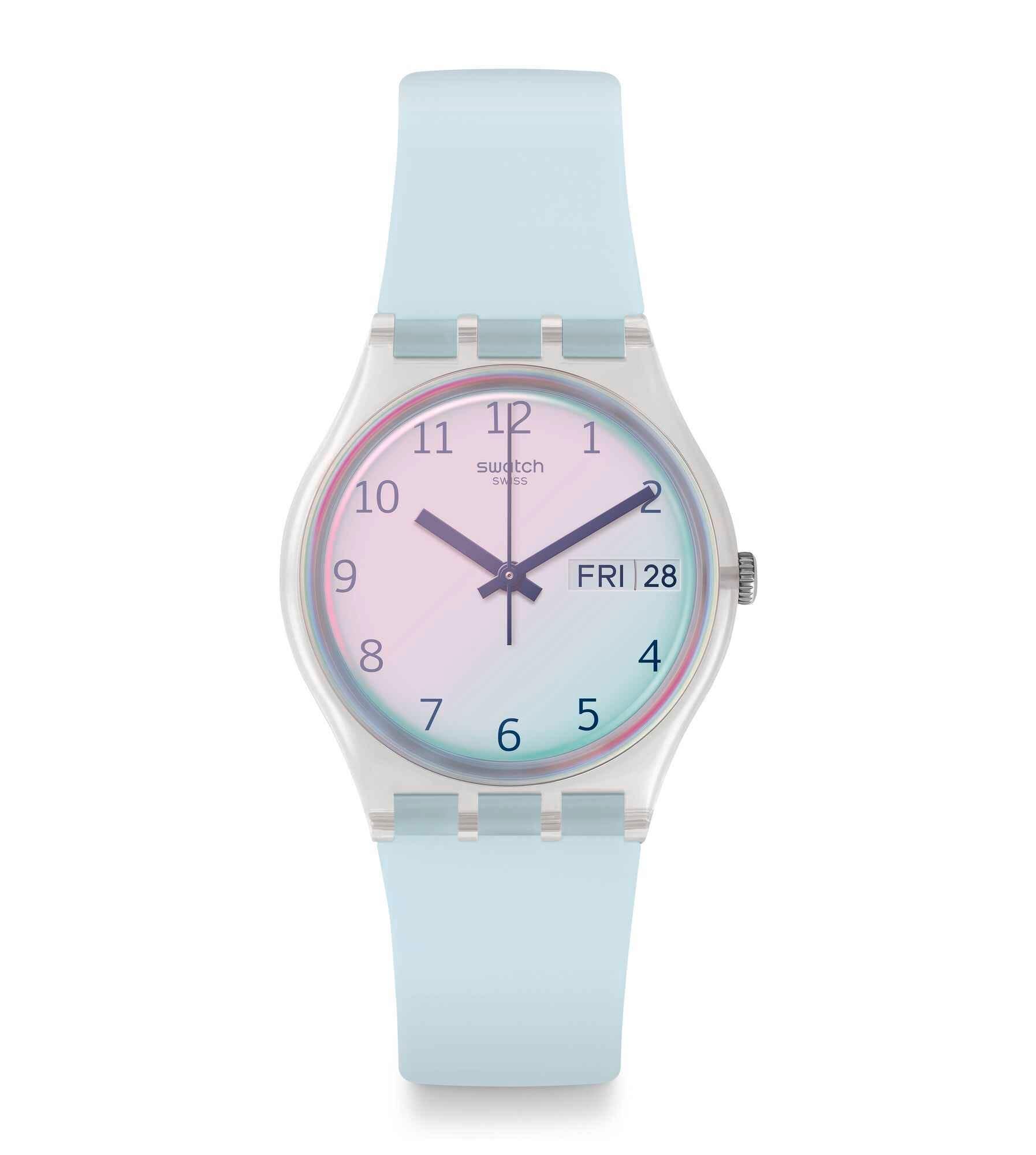 Swatch Azul Azul Claro Swatch Claro Claro Reloj Reloj Swatch Azul Reloj AjL354Rq