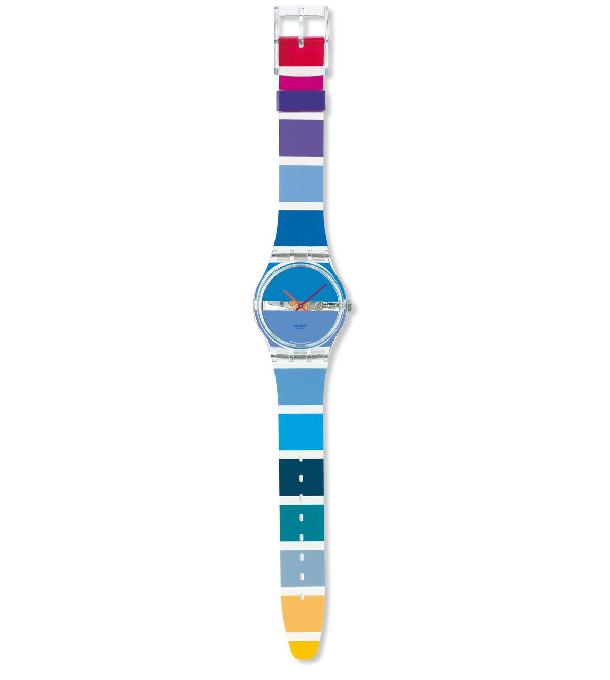 BLUE PAINTED TIME - GK376