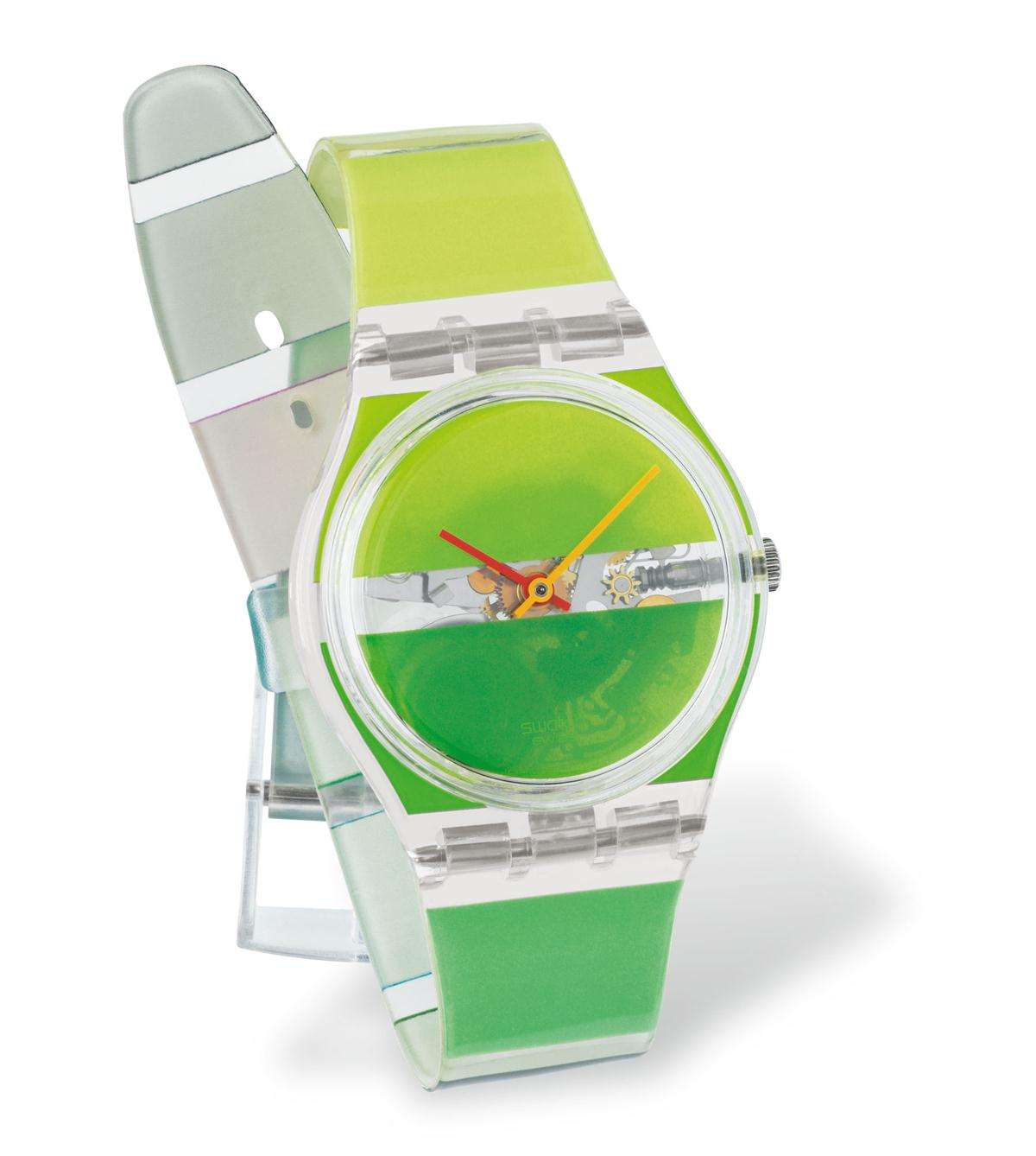 GREEN PAINTED TIME - GK379