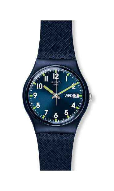 swatch® official store swatch® trendy sir blue