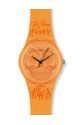 TIME NEVER DIES ORANGE