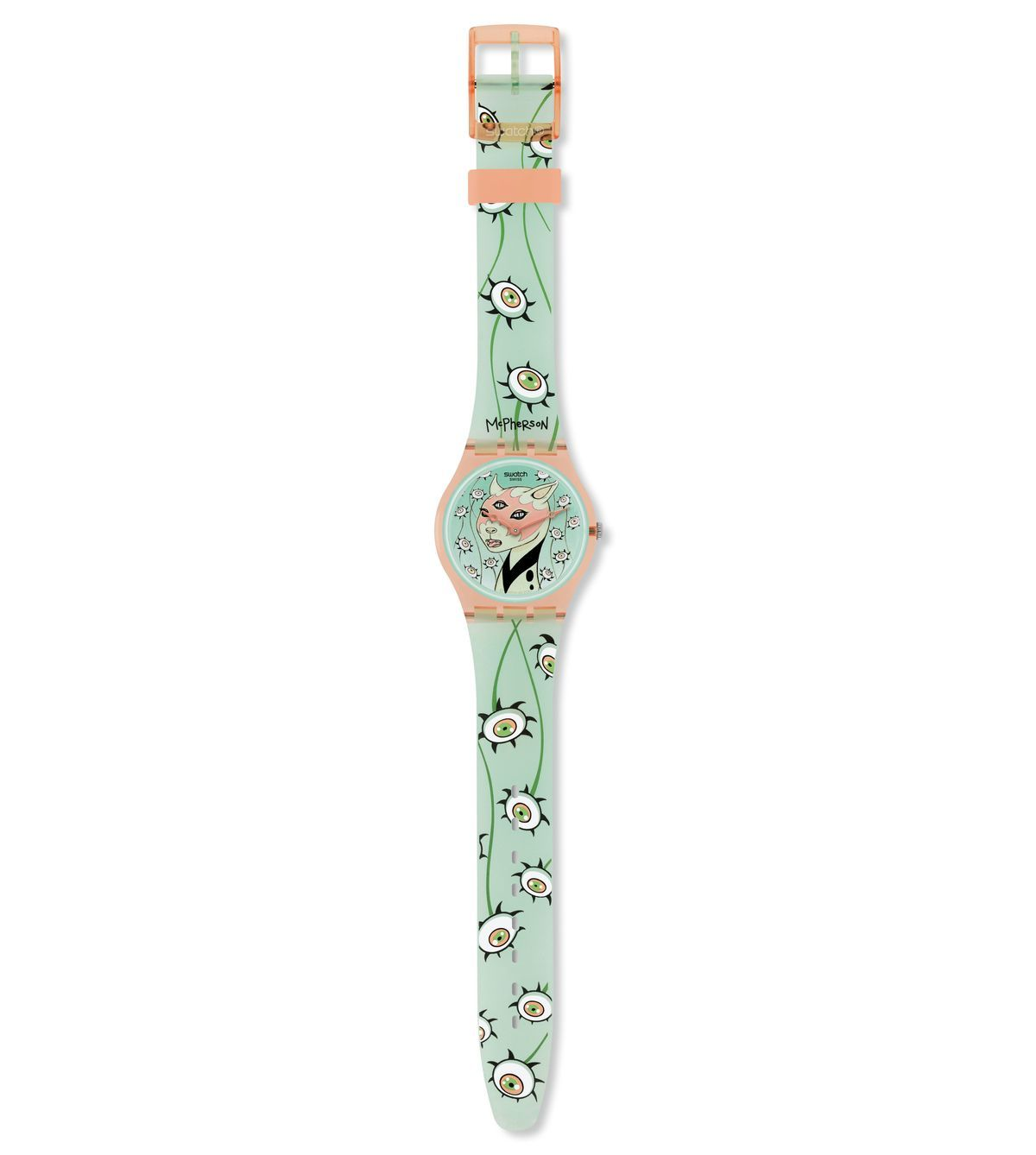 SWATCH-THE EYES ARE WATCHING - GP132
