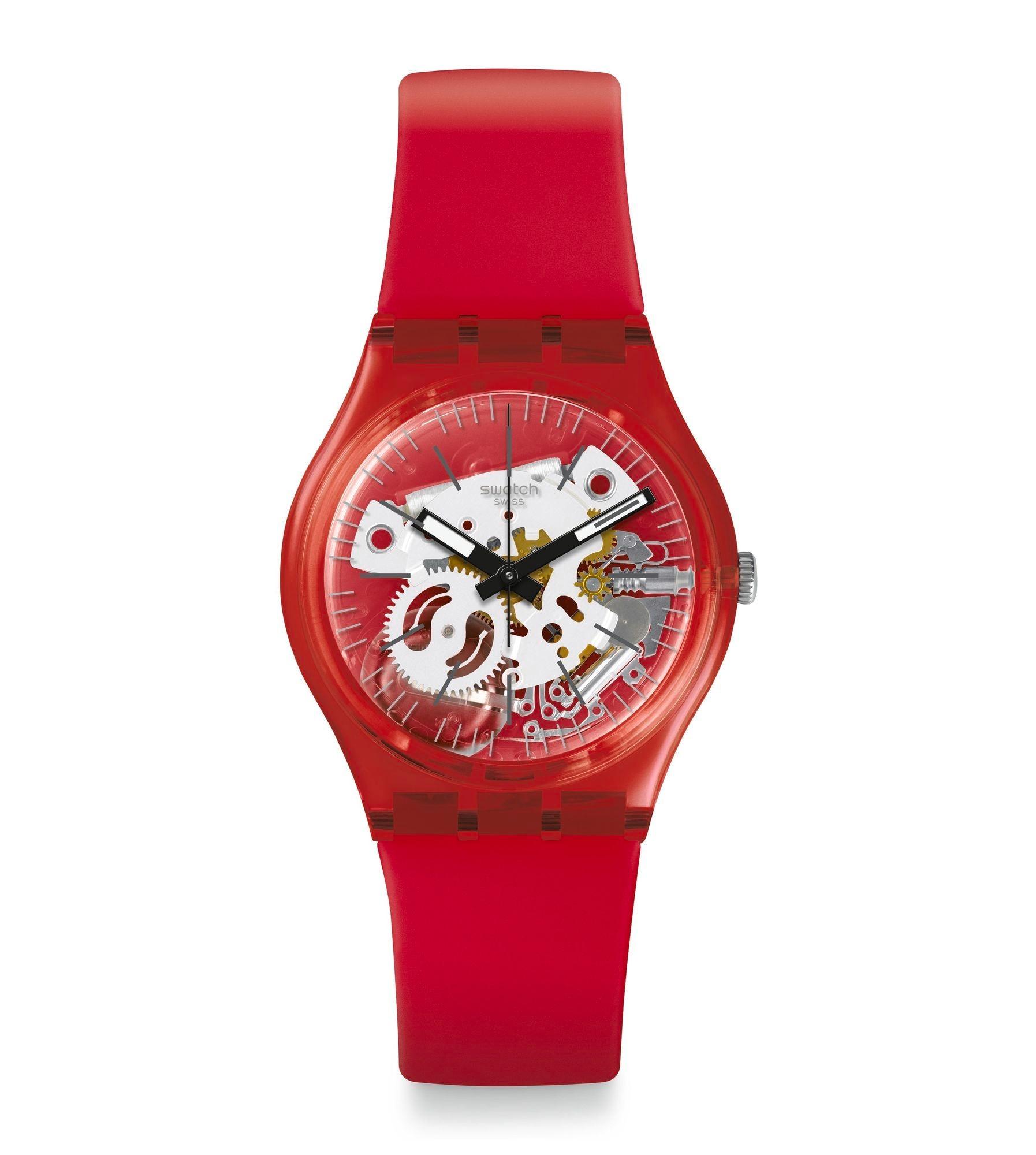 cb26c8e080fb Swatch® México - Gent (Ø 34 MM) ROSSO BIANCO GR178