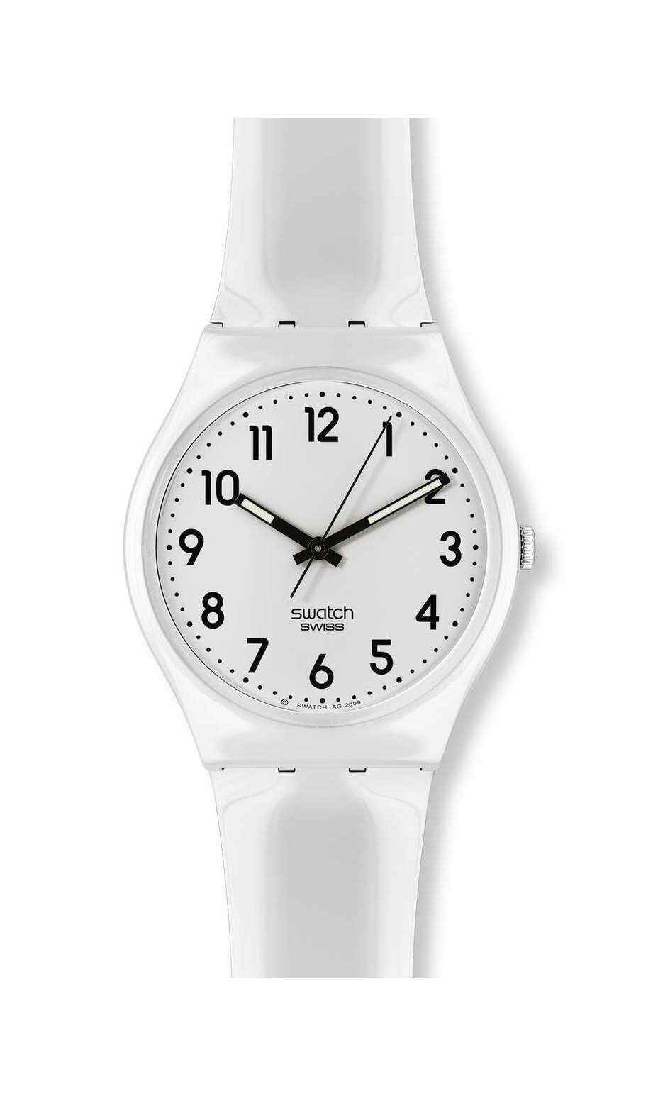 Swatch - JUST WHITE SOFT - 1