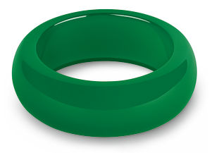 REBEL BANGLES GREEN