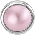 PIN ROUND PINK PEARL STONE