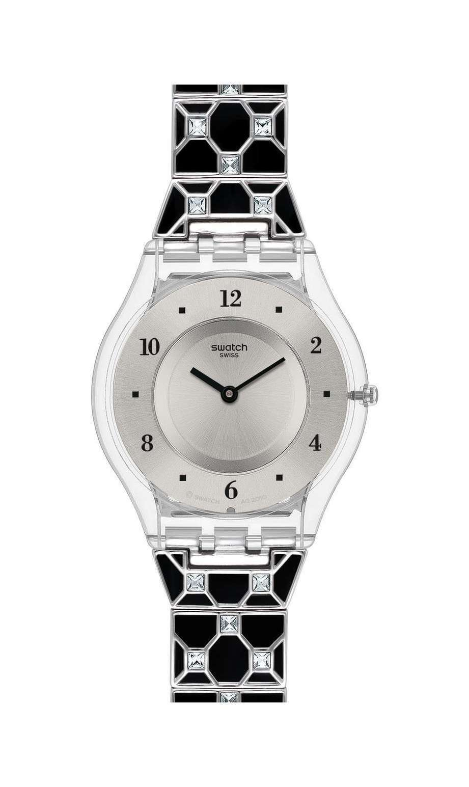 Swatch - ELEGANTLY FRAMED BLACK - 1
