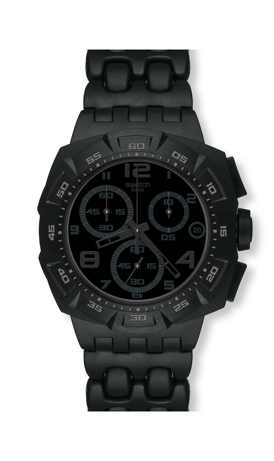 Swatch - BLACK DUNES GREY - 1