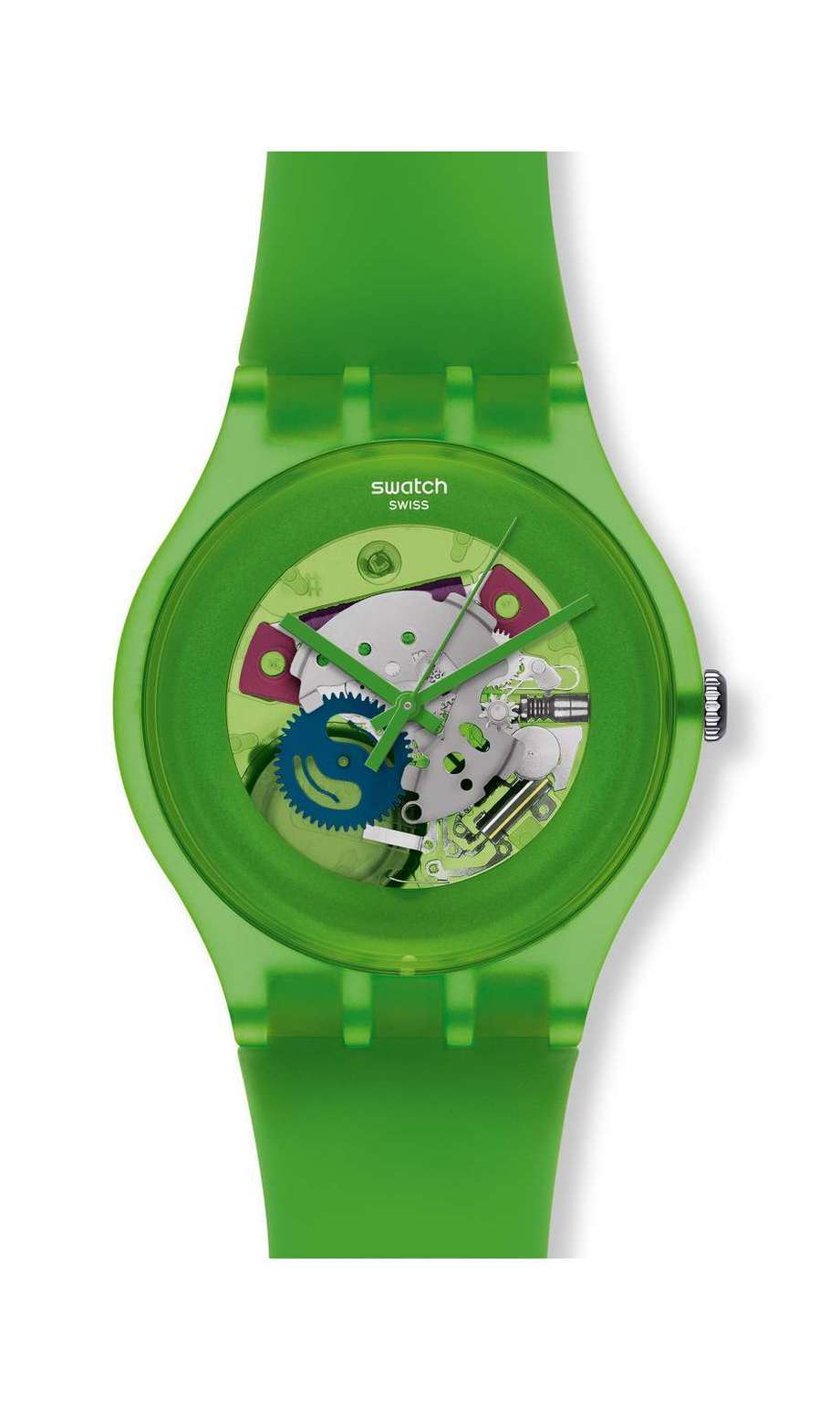 Swatch - GREEN LACQUERED - 1