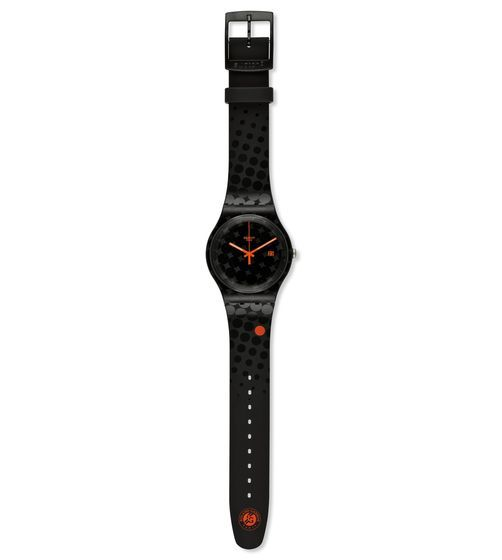 SWATCH ROLAND-GARROS BLACK SMASH - SUOZ400