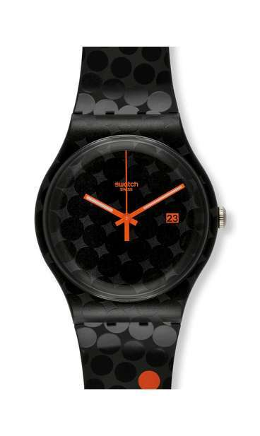 SWATCH ROLAND-GARROS BLACK SMASH