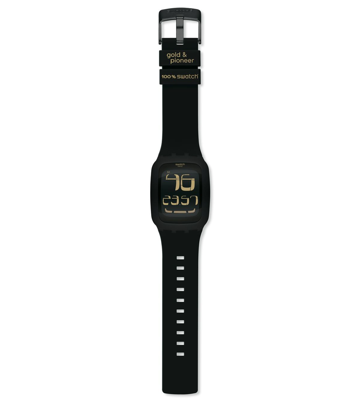 SWATCH TOUCH BLACK / GOLD & PIONEER 2011 - SURB100S