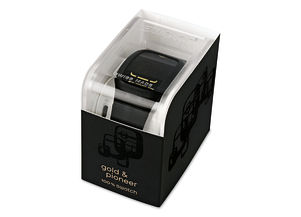 SWATCH TOUCH BLACK / GOLD & PIONEER 2011