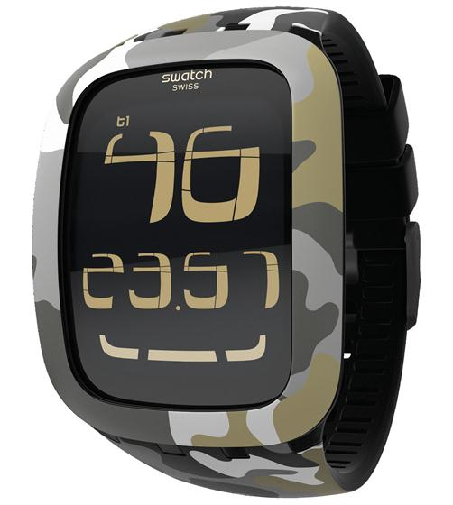 SWATCH TOUCH CAMOUFLAGE - SURB105