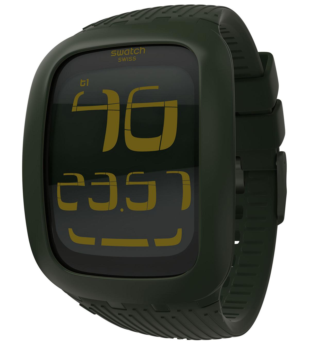 SWATCH TOUCH OLIVE - SURG101